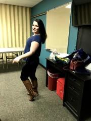 Day 122: Dancing in writing class
