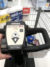 Day 125: After work, my foot hurt so bad, I needed an electric cart